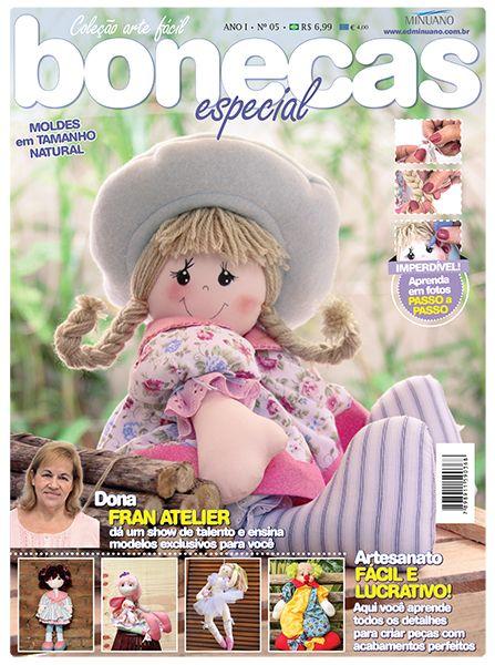 Editora Minuano - Artesanato - Bonecas : COL ARTE FACIL BONECAS ESP 005