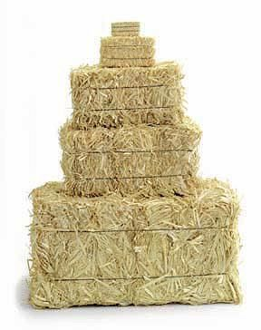 Straw Bales There are sizes for any craft or display you want to put them in. From drieddecor.com