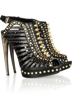 Alexander McQueen - Studded leather sandals
