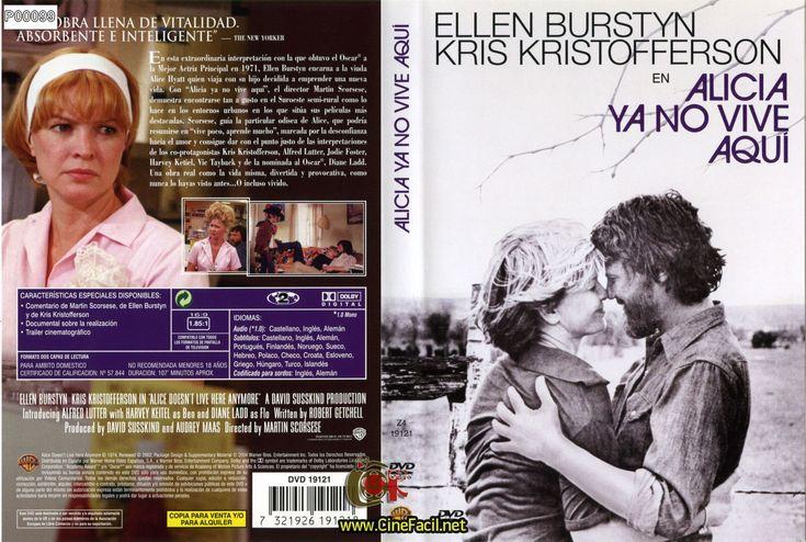 """Ellen Burstyn nominada como la mejor actriz por la Academia por la película """"Alicia ya no vive aquí"""" exhibida en el año de 1974."""