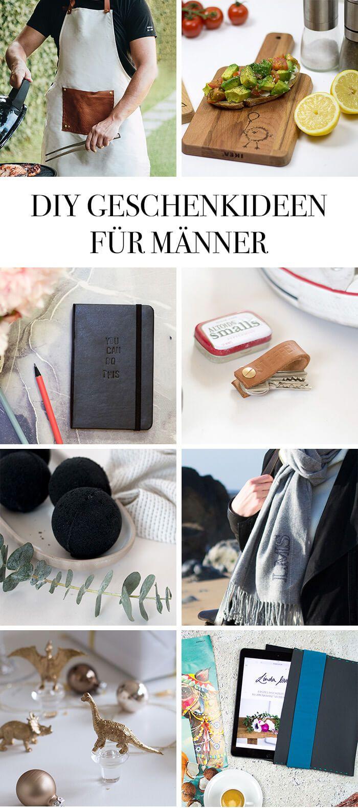 Die Schonsten Diy Geschenke Fur Ihn Diy Crafts Diy Gifts For Him