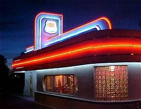 Route 66 diner in Albuquerque, New Mexico, USA