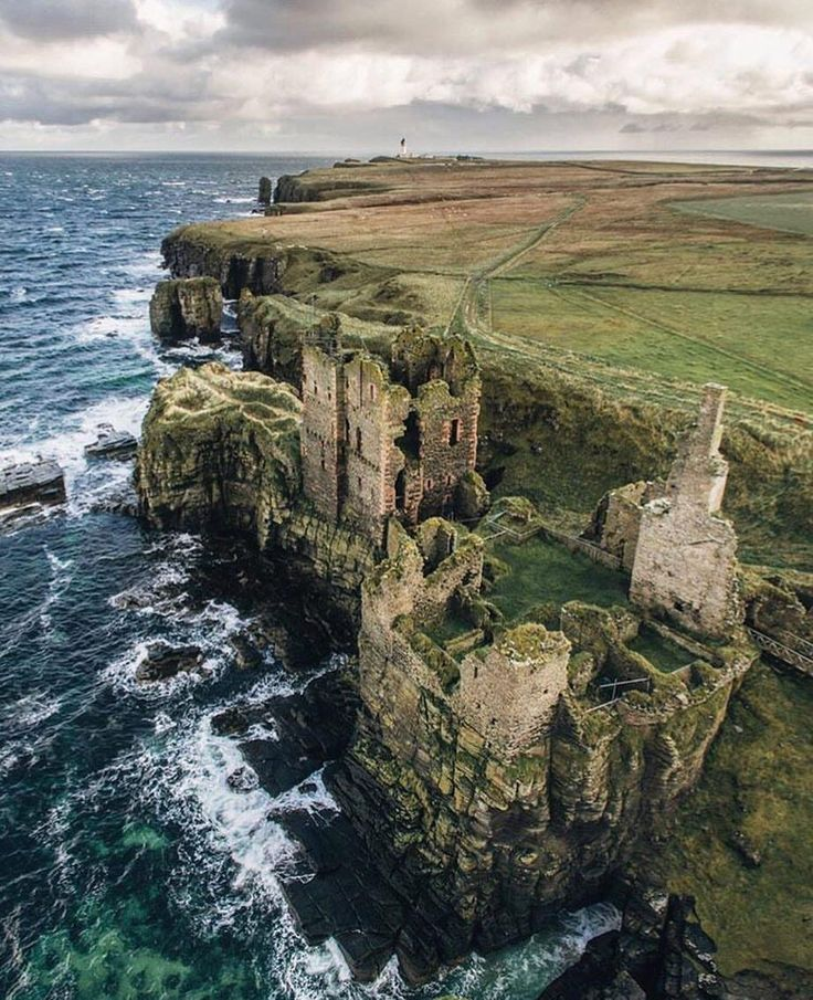 Castle Sinclair Girnigoe, Scotland   landscapes   Scotland ...