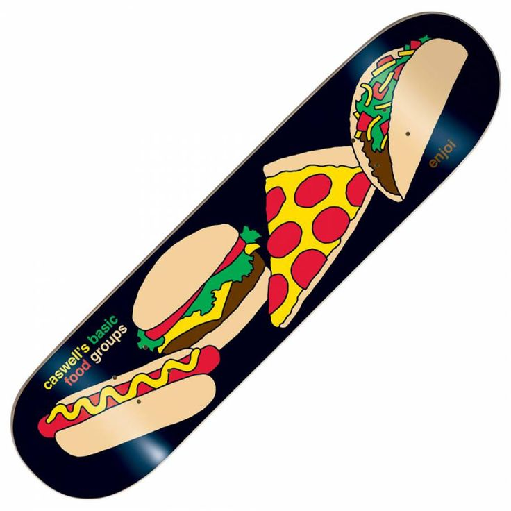 Enjoi Skateboards Enjoi Caswell Berry Food Groups Skateboard Deck ...