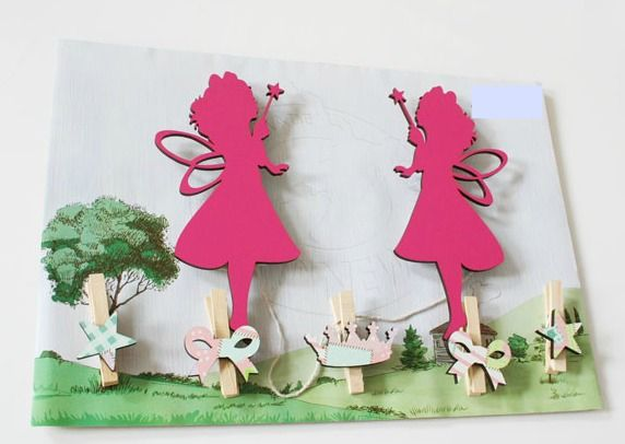 Our Fairy wall art pegs are the perfect way to display your child's masterpieces, favourite photos, notes etc  NZ$29.00 from Squoodles http://squoodles.co.nz/products/kids-wall-art-pegs/