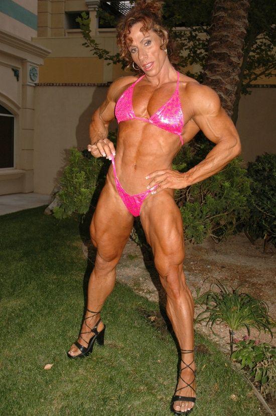 Annie Rivieccio  Muscular Women, Annie, Bodybuilding-9663