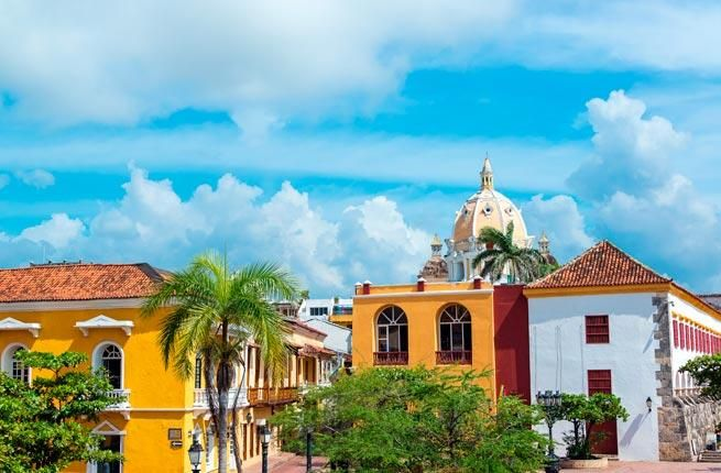 This Colombian city is filled with historic buildings, an artistic neighborhood, and plenty of sun.
