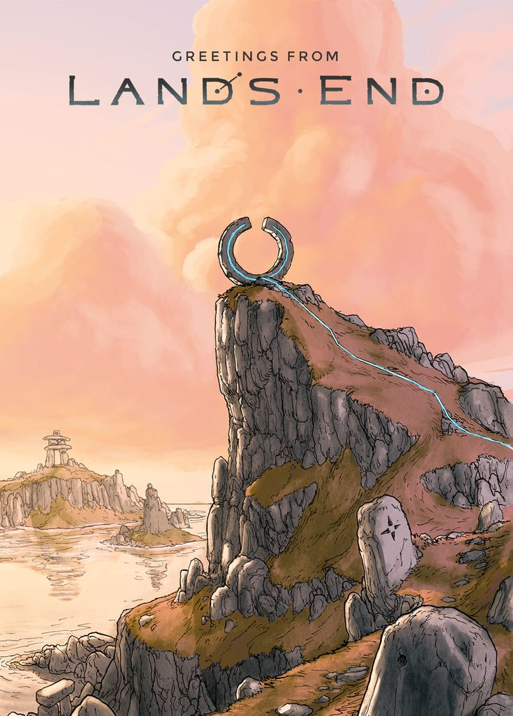 Lands End postcard