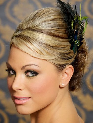 How to wear hair down with headband