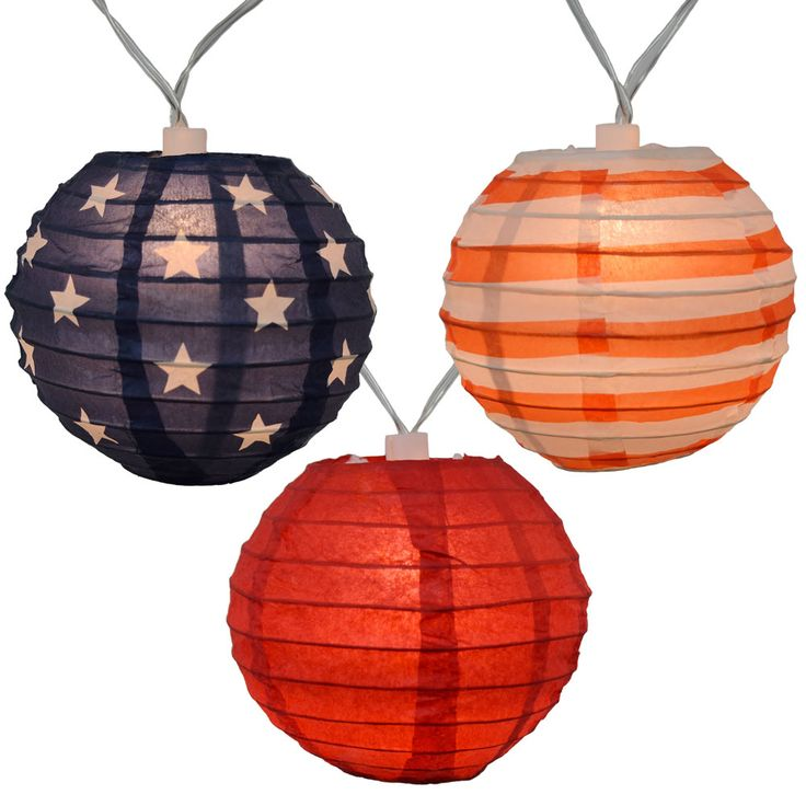 Patriotic String Lights Outdoor : Best 25+ Battery operated lanterns ideas on Pinterest Battery operated outdoor lights, Battery ...