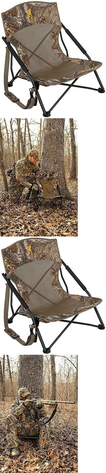 Seats and Chairs 52507: Browning Outdoor Folding Chair Turkey Deer Hunting Camping Camouflage Stand Sit BUY IT NOW ONLY: $49.0
