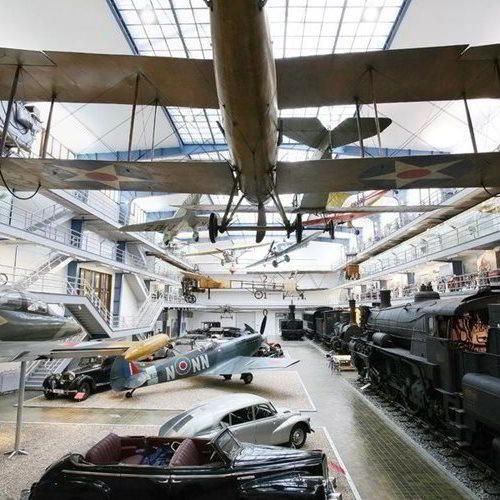 Kudy z nudy - Parní stroje v českých zemích v Národním technickém muzeu Praha