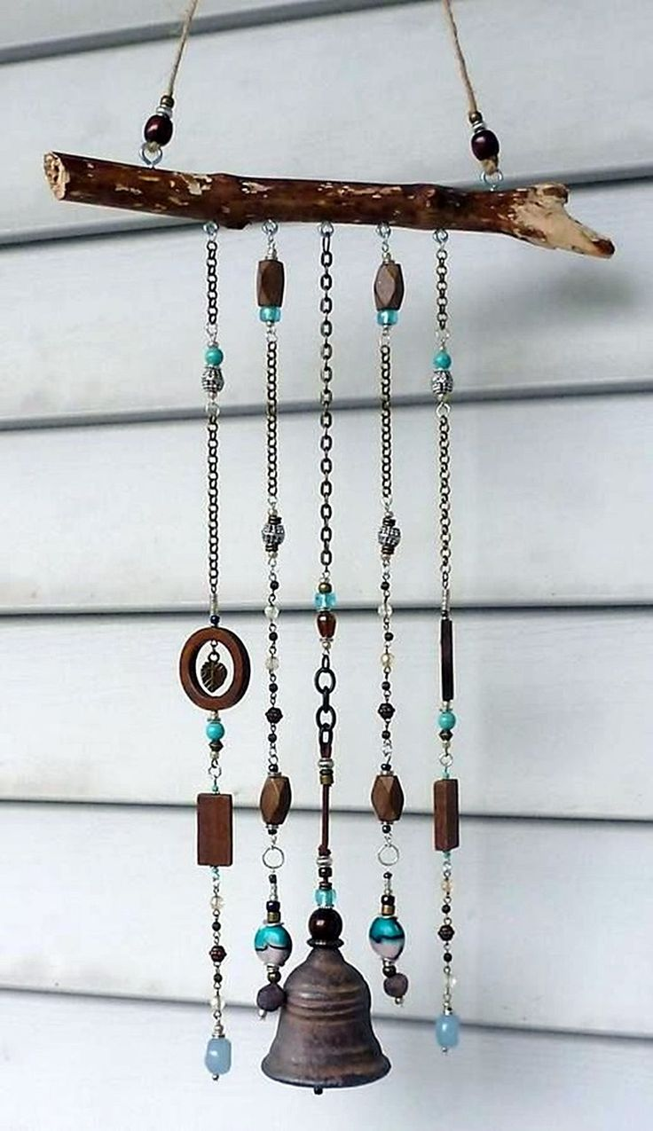 25 unique homemade wind chimes ideas on pinterest wind for Wind chime ideas