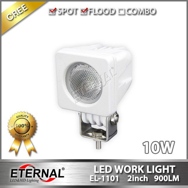 10W 2x2in mini led work light marine boat yatch led lamp