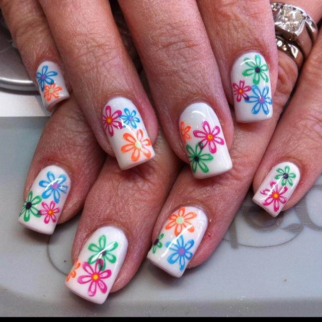 Attractive Konad Stamping Nail Art Frieze - Nail Paint Design Ideas ...