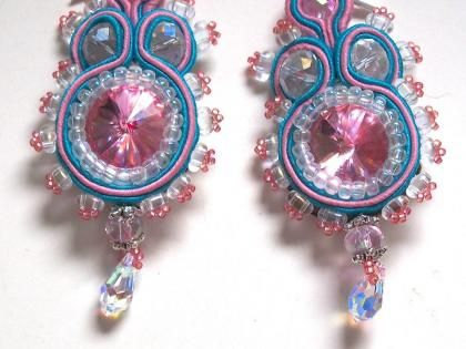 Soutache, (also referred to as 'Russian Braid') is a predominantly sewing-based technique of building layers of cords in a way that beads ca...