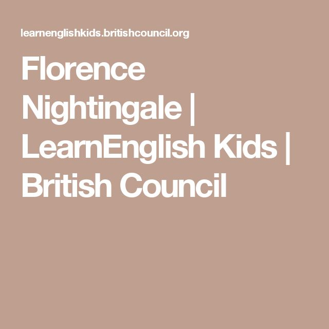 Florence Nightingale | LearnEnglish Kids | British Council