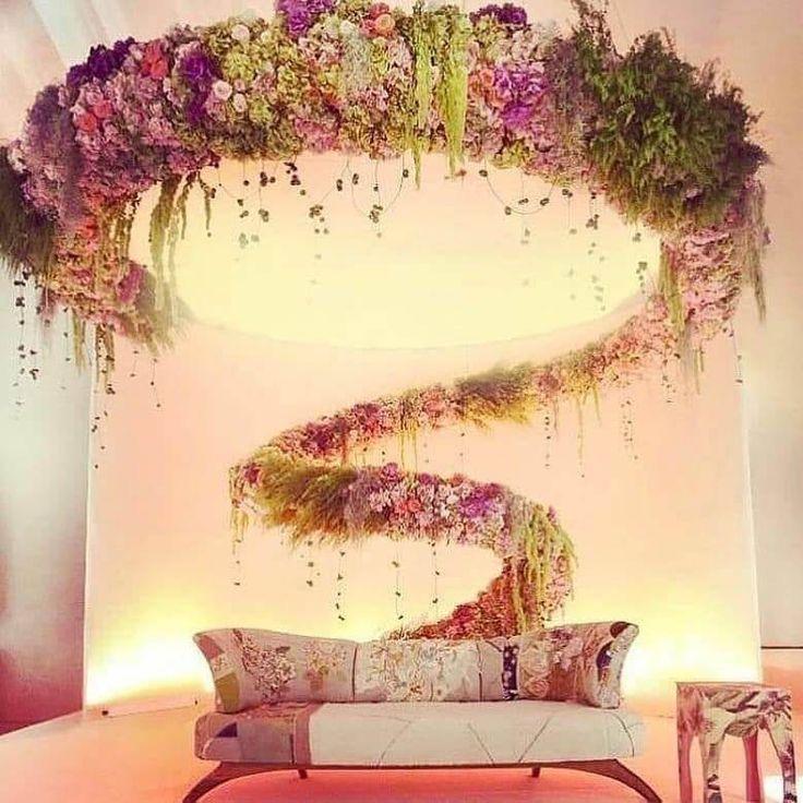 Beautiful Stage decoration design #weddingstage #stagedecor #stagedesign  #mandabdesign | Wedding stage decorations, Stage decorations, Wedding stage