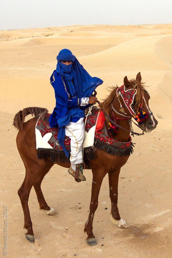 Tuareg warrior in the Sahara Desert, Tunisia | Nenad Druzic on 500px