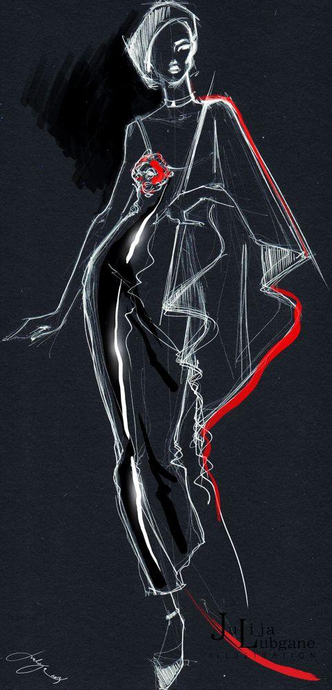 Digital Illustration by Julija Lubgane