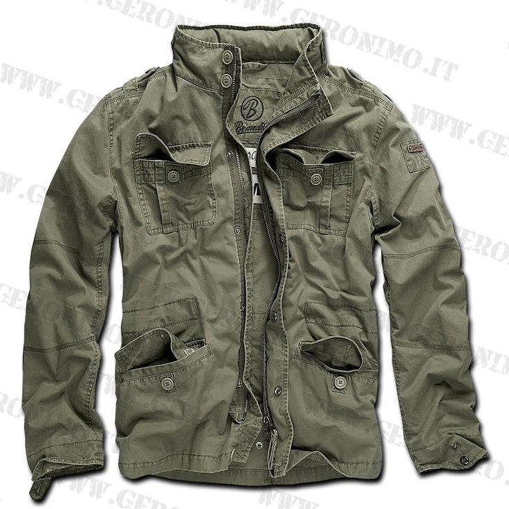 giacca militare estiva