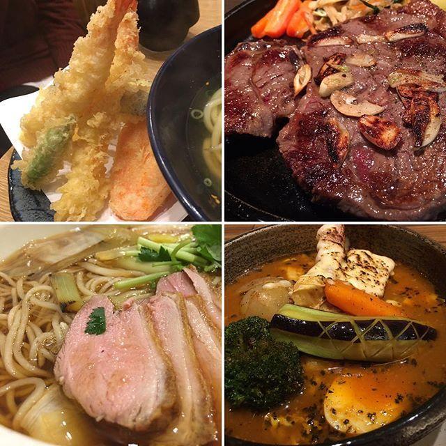 最近のメシカツまとめ。  11月は決まって胃腸が優れないのでお休み。  #飯 #肉 #うどん #そば #スープカレー #foodstagram