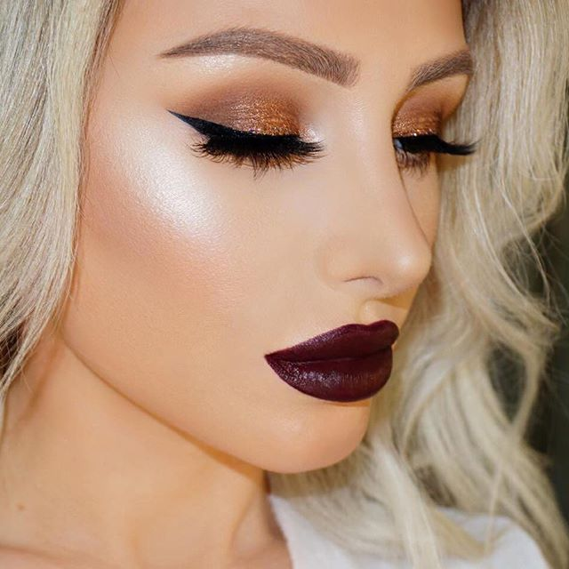 luce increíble con #morphe #makeup #maquillaje #lips #eyes #beauty #style