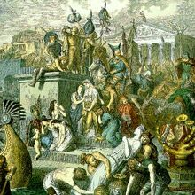 The Vandals were an East Germanic tribe who sacked the city of Rome in 455. Where did the Vandal army come from to attack Rome? North Africa.