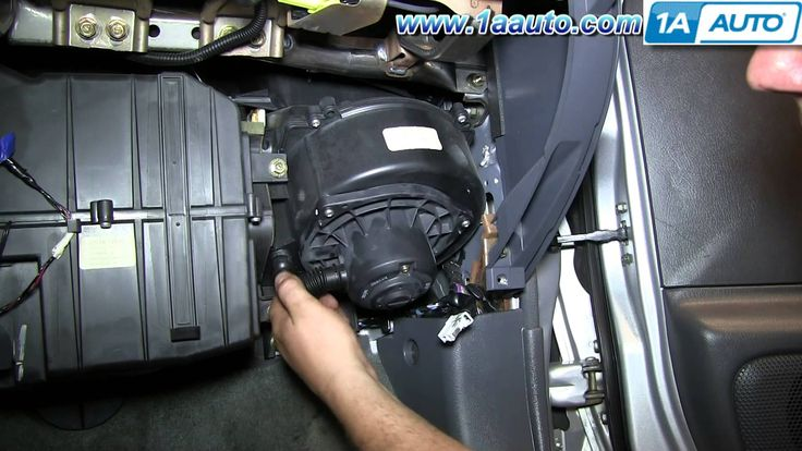 awesome How To Install Replace AC Heater Blower Fan Motor 2000-04 Nissan Frontier