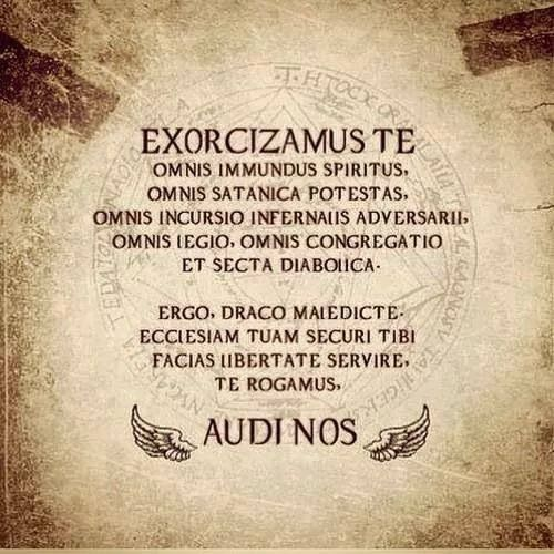 exorcism speech