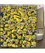 Cartoon Movie Minions Custom Print On Polyester... - $35.00 - $41.00