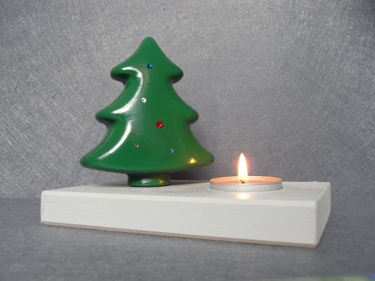 #Portacandela Albero di Natale