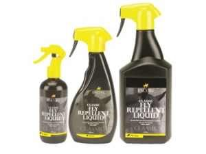 Lincoln classic DEET midge & fly repellent sprays for horses & ponies.   http://www.rightasrein.co.uk/lincoln-classic-fly-repellent-liquid-spray-for-horses from £6.65