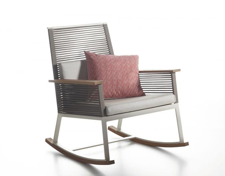 Chairs Kettal Landscape Rocking Chair