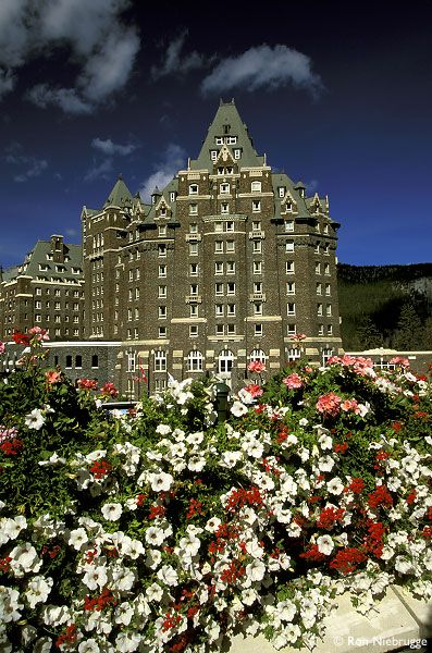 Banff Springs Hotel, Banff National Park, Alberta, Canada, Stock Photos