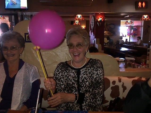 My Mom and Aunt - Mom's 70th Birthday