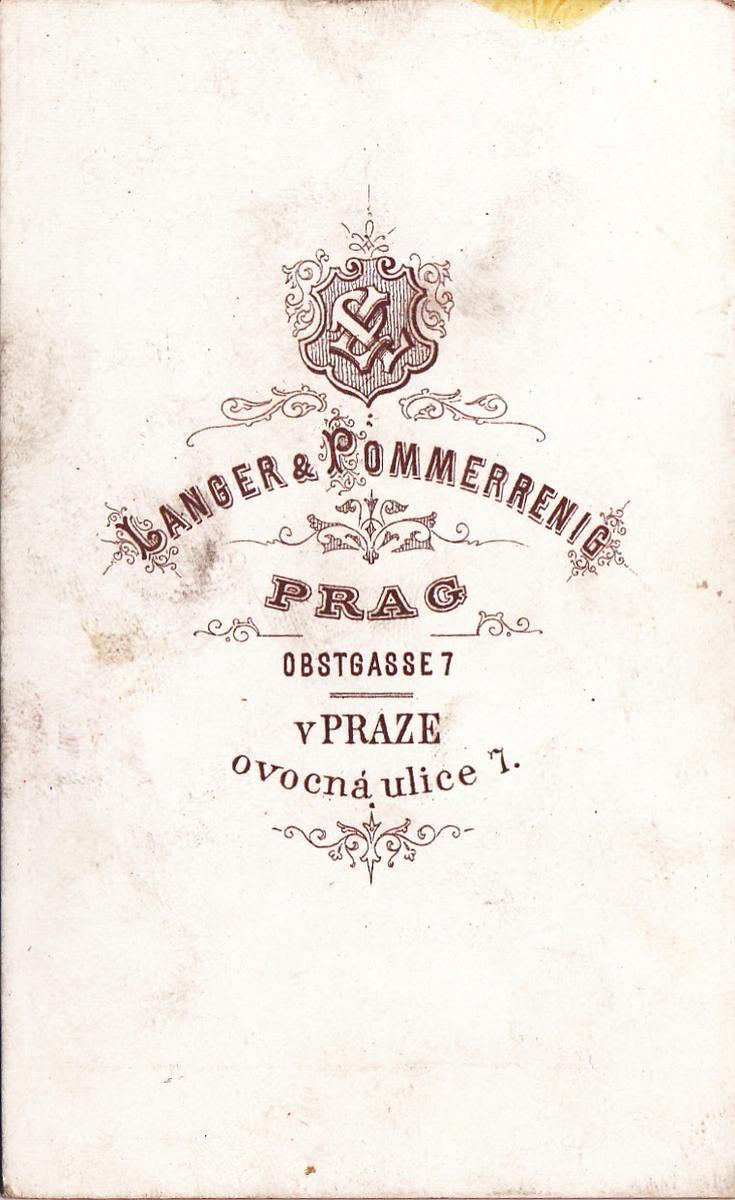 Praha / Prag Langer a Pommerrenig