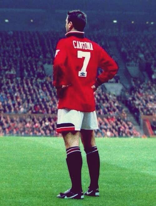 Eric Cantona Manchester United.....