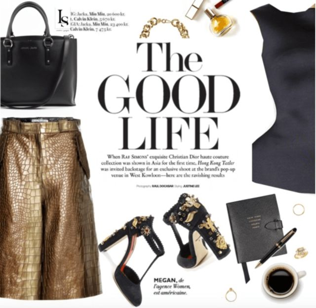 The good life with great outfit #womenfashion #dolcegabbana #armani #thegoodlife  Shop the look --> http://lookshop.ca/pages/lookbook