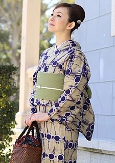 YUKATA 有松絞り浴衣 ゆかた屋つゆくさ  有松絞り浴衣2013