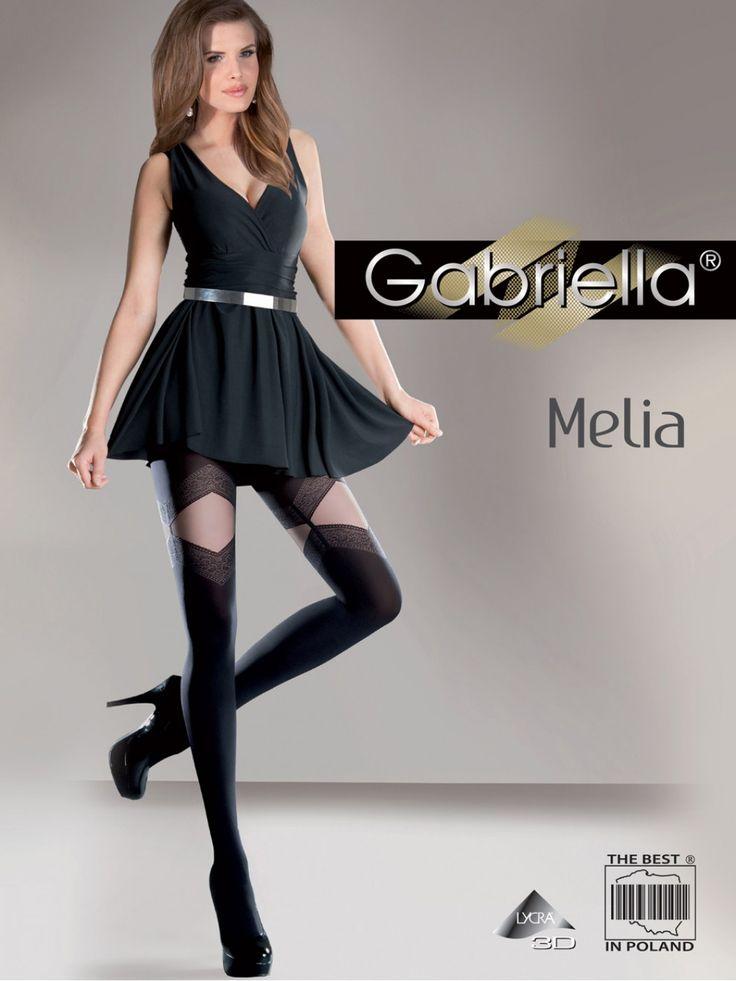 Pančuchové nohavice Melia 3D