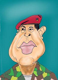 CARICATURAS DELBOY: HUGO CHAVEZ
