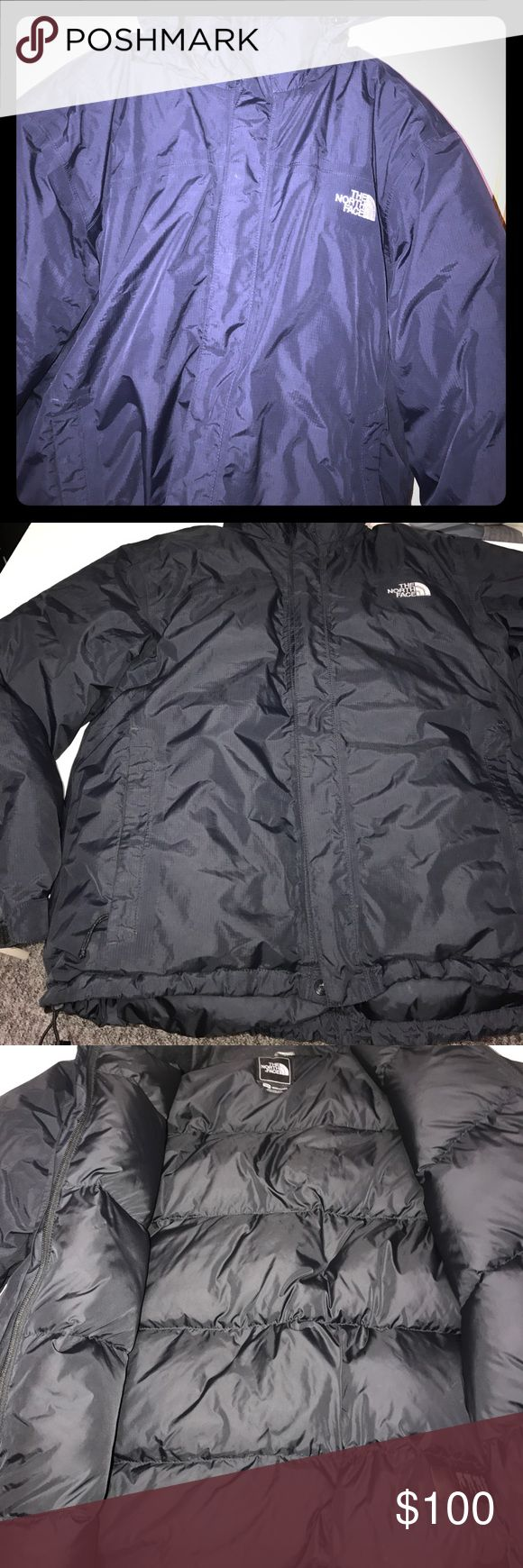 Men's North Face Warm Winter Coat -M Excellent Condition- Removable hood . Adjustable pull strings bottom. No defects . The North Face Jackets & Coats Puffers