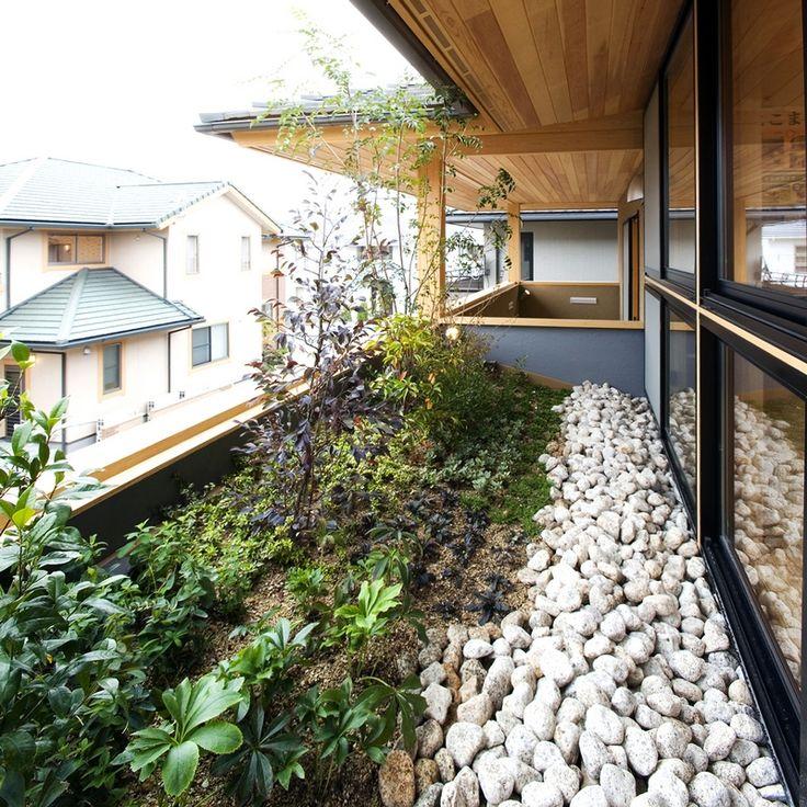 写真:蟹江展示場 庭