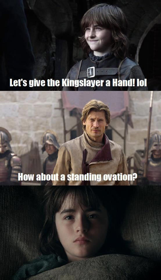 Game of Thrones Bran and Jaime