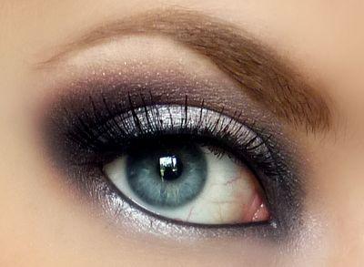 //Pretty Eye, Makeup Geek, Eye Makeup, Eye Shadows, Smoky Eye, Makeup Eye, Eyeshadows, Smokey Eye, Emma Stones