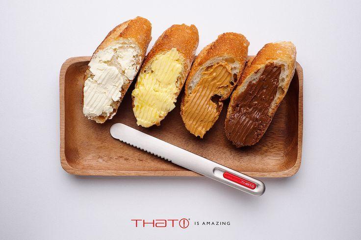 SpreadTHAT! II - SpreadTHAT! II . Un coltello per spalmare che si scalda con il calore della mano! - non solo burro