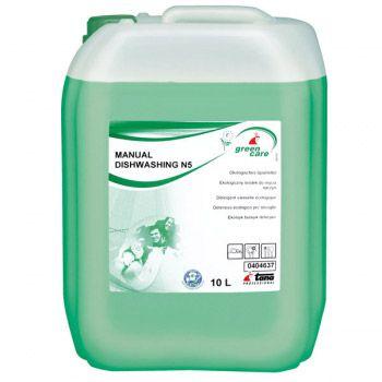 Detergent ecologic pentru spalarea manuala a vaselor. Eficient contra grasimilor.