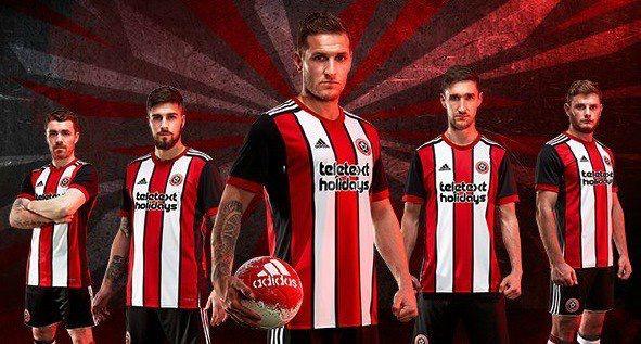 Sheffield United 2017/2018 Home Kit