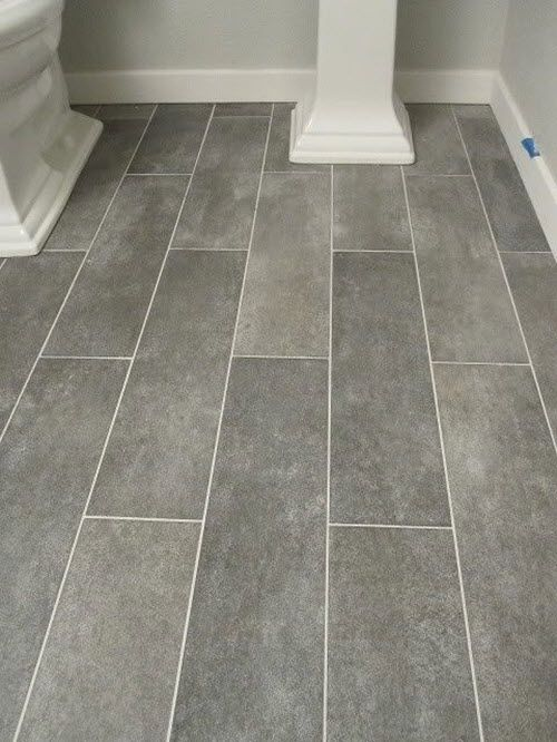 25 best ideas about bathroom floor tiles on pinterest for Grey wood floor bathroom